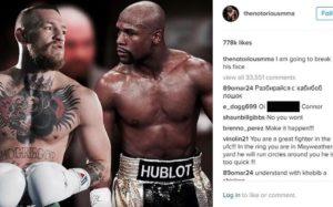Perselisihan McGregor Dan Mayweather Jr Kian Berlanjut