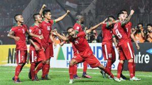 Indonesia Naik Delapan Peringkat Di Ranking FIFA