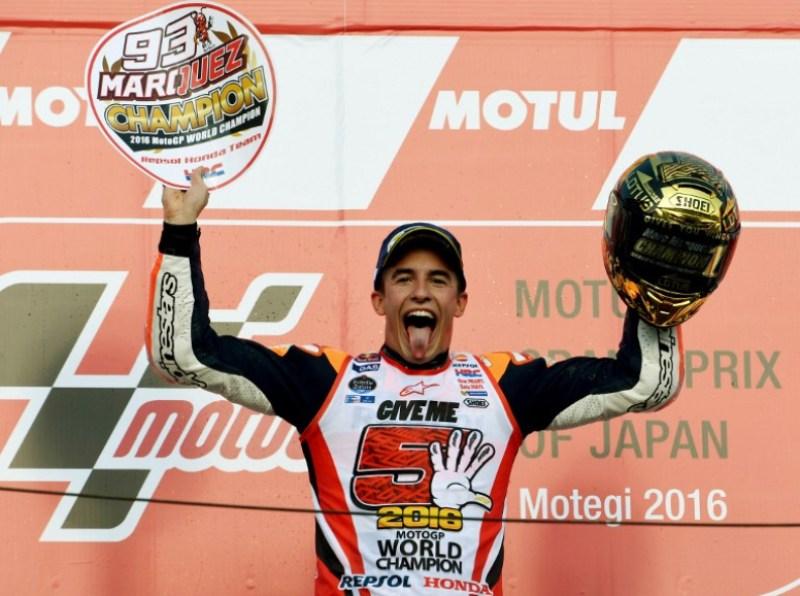 Juara Dunia MotoGP 2016 Marc Marquez