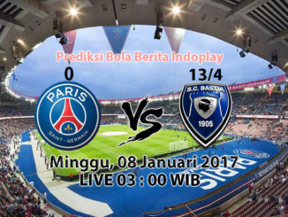Berita Indoplay - Prediksi Paris Saint Germain Vs SC Bastia, Minggu 08 Januari 2017 - Pertandingan France Cup antara Paris Saint Germain Vs SC Bastia di Stadion Parc des Princes (Paris) pada pukul 03 : 00 WIB dini hari.