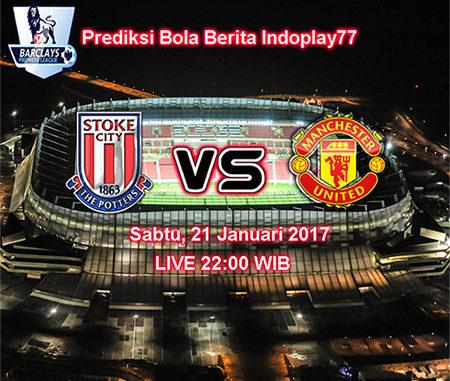 Berita Indoplay - Pada kesempatan kali ini Berita Indoplay akan memberikan Prediksi Stoke City Vs Manchester United, Sabtu 21 Januari 2017. Pada Laga kompetisi English Premier Legue 2017 pada pukul 22:00 WIB yang akan di selenggarakan di Stadion Britannia Stadium, Stoke.