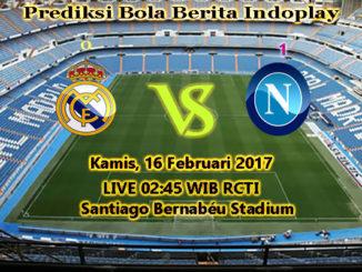 Berita Indoplay - Prediksi Real Madrid Vs Napoli Kamis, 16 Februari 2017. Pertandingan Liga Champions babak 16 besar antara Bayern Munchen Vs Arsenal di Santiago Bernabéu Stadium, pada pukul 02:45 WIB dini hari.
