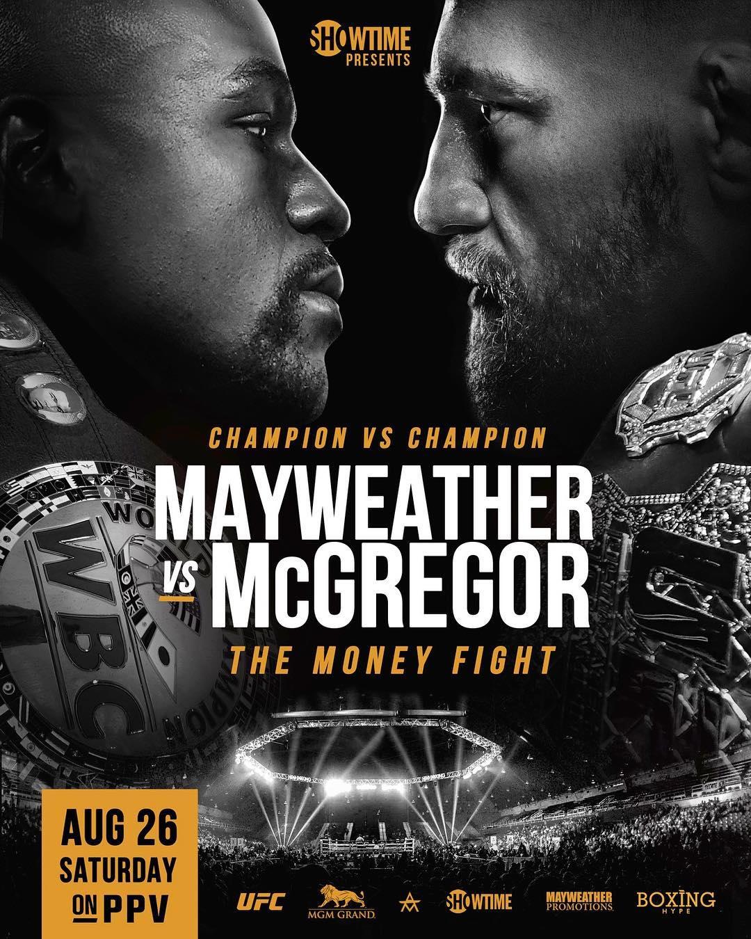 Duel Floyd Mayweather Vs McGregor Akan Segera Digelar