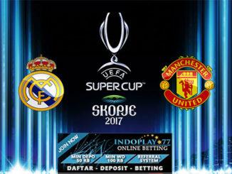 Agen Bola Online - Prediksi Real Madrid Vs Man United Piala Super Eropa. Pertandingan Piala Super Eropa kali ini akan mempertemukan Real Madrid vs Manchester United yang akan berlangsung di Philip II Arena, Rabu (09/8/2017) pada pukul 01:45 WIB dini hari nanti.