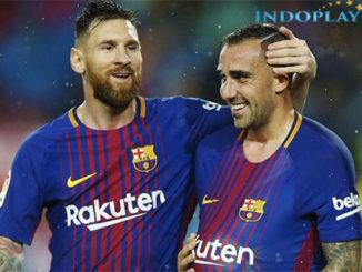 Agen Bola Online-Cuplikan Gol Barcelona 2 - 1 Sevilla La Liga.Barcelona sukses menaklukan Sevilla dengan skor 2-1 pada pertandingan La Liga Spanyol yang berlangsung di Camp Nou pada, Minggu (5/11) dini hari.