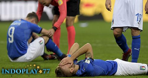 Agen Bola Online- Italia Tidak Lolos Ke Piala Dunia 2018.Pertandingan leg kedua pada laga Piala Dunia 2018 yang mempertemukan Italia kontra Swedia yang berlangsung di Stadion San Siro pada hari Selasa (14/11).