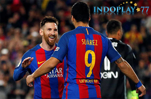 Suarez Ingin Messi Memperpanjang Kontrak Baru Barcelona