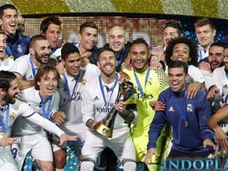 Agen Bola Online- Real Madrid Menjuarai Piala Dunia Antar Klub 2017. El Real sukses keluar sebagai juara Piala Dunia antar klub 2017 yang berlangsung di Zayed Sport City Stadium pada Minggu (17/12) dini hari. Mereka berhasil mengalahkan Gremio dengan skor 1-0 berkat gol tunggal dari Cristiano Ronaldo di menit ke-53.