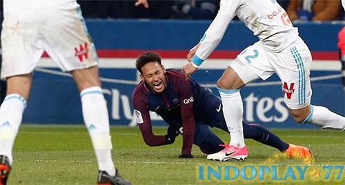 Neymar Mengalami Cedera Yang Cukup Parah