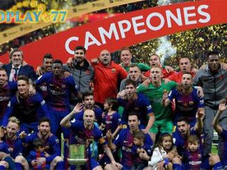 Barcelona Raih Gelar Copa Del Rey Musim Ini 2017/2018. Pertandingan Final Copa Del Rey antara Barcelona vs Sevilla yang berlangsung di Wanda Metropolitano, Minggu (22/04/2018)