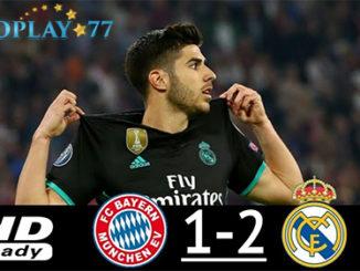 Bayern Munchen Takluk 1 - 2 Atas Real Madrid Semifinal Liga Champions. Lanjutan pertandingan laga Semifinal Liga Champions leg pertama antara Bayern Munchen vs Real Madrid yang berlangsung di Allianz Arena, Kamis (26/04/2018) sukses di menangkan oleh Real Madrid.